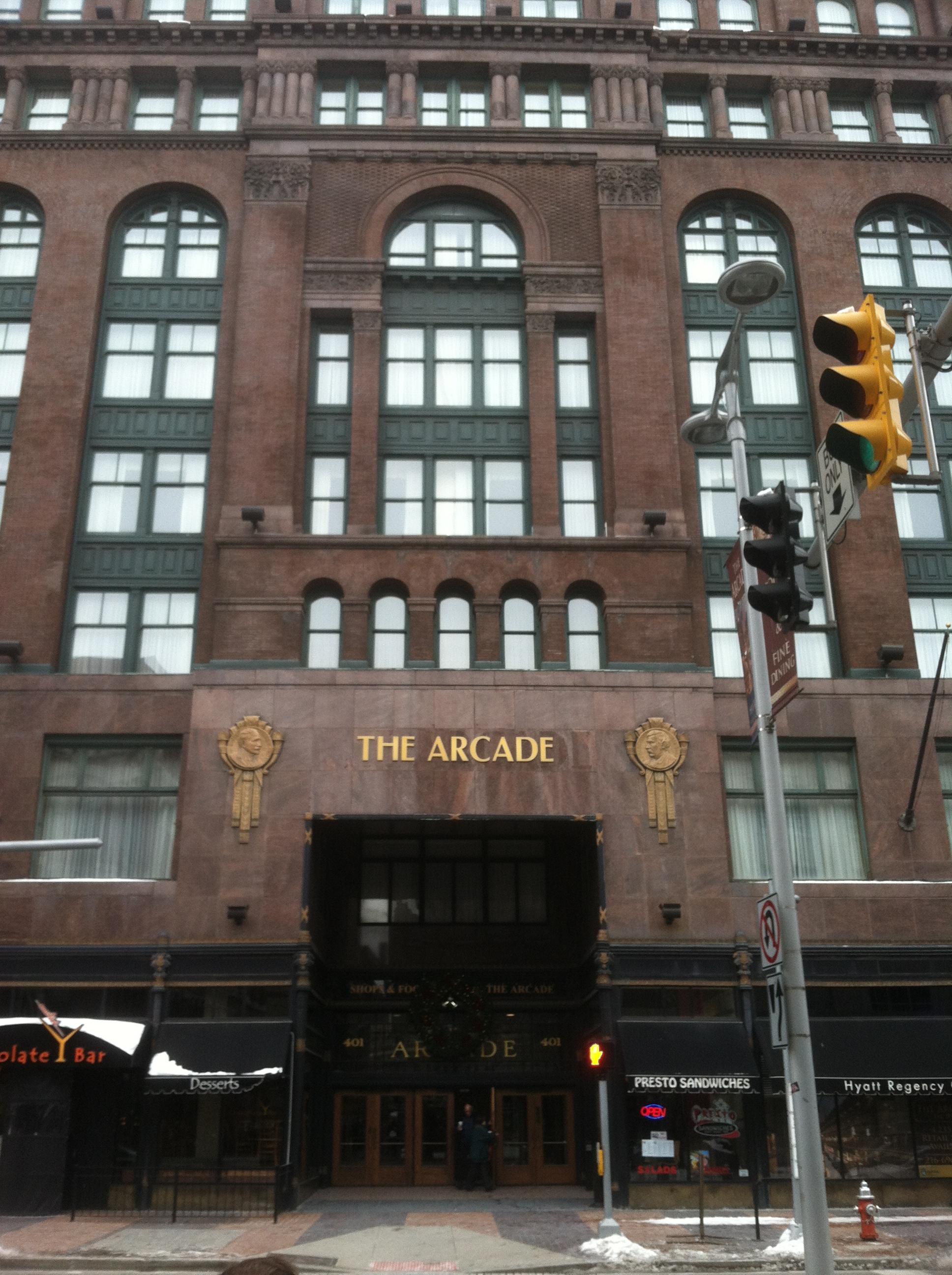 The Cleveland Arcade   Hidden Hudson
